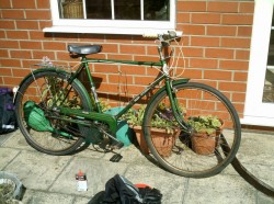 The new bike